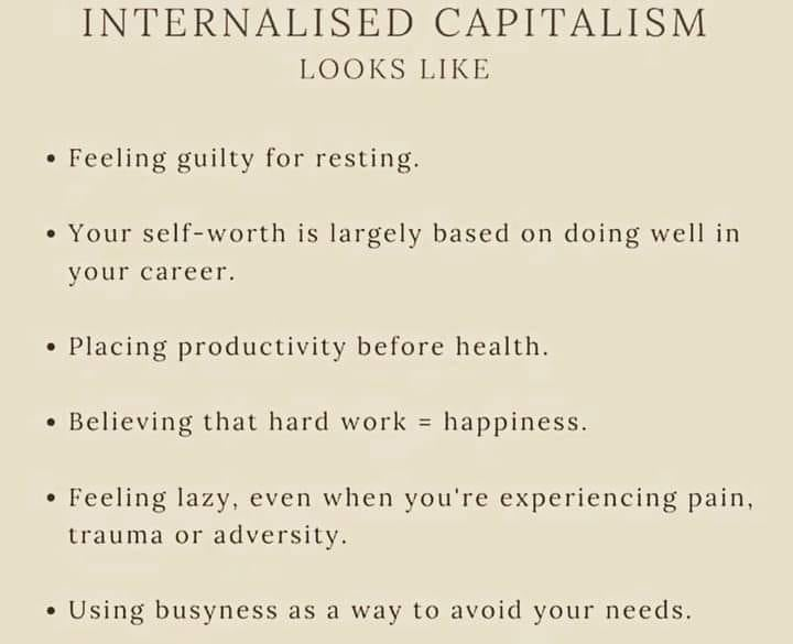 The Pop-Psychology of Internalized Capitalism and The Righteousness of Instagram-Worthy Psychotherapists